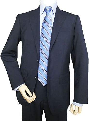OXFORD CLASSIC PremiumLine 春夏秋 メンズ スーツ 紺無地 段返り3つボタン 5588