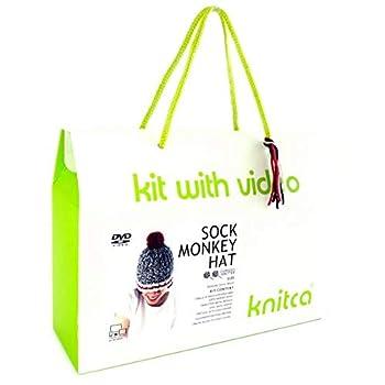 Knitting Kit - Monkey Hat