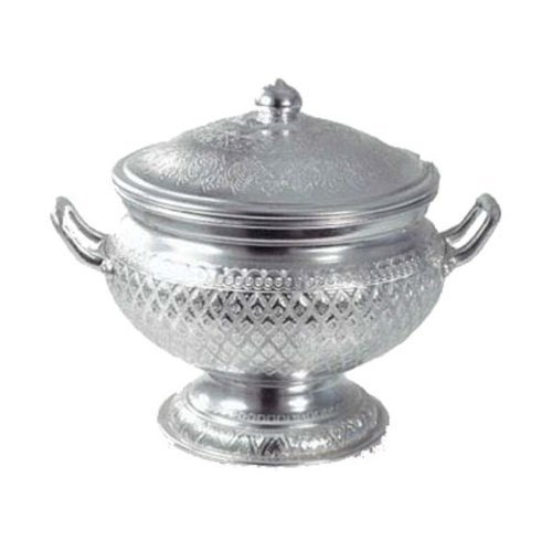 Thai Design Laai Thai Aluminium Rice Serving Bowl l