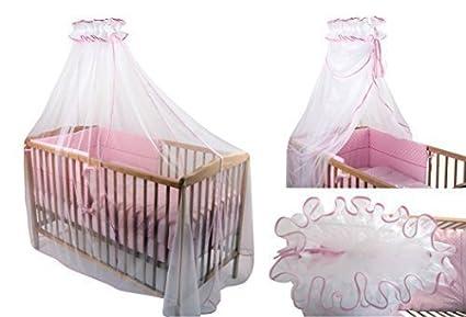 Lit A Baldaquin Pour Sommeil Royal : Ciel de lit ou berceau moustiquaire en tulle modulable grand
