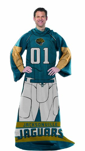 The Northwest Company NFL Jacksonville Jaguars Full Body Player Comfy Throw
