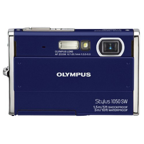 Olympus Stylus 1050SW 10.1MP Digital Camera with 3x Optical Zoom - Olympus Sw 1050 Stylus