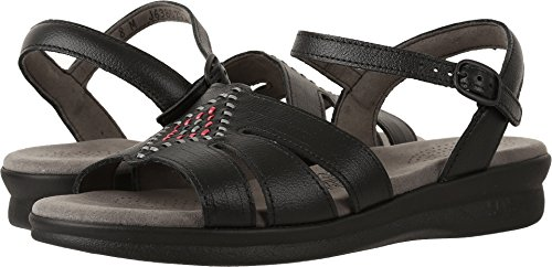 (SAS Women's Huarache Black 7.5 M (M) (B) US)