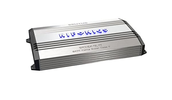 Hifonics brx2416.1d Brutus Mono super clase D amplificador de Subwoofer, Especificación: Amazon.es: Coche y moto