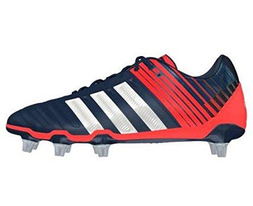 new products 63b66 ea3d9 adidas Adipower Kakari SG Botas de rugby para hombre, Azul MarinoRojo, 40  23 Amazon.es Zapatos y complementos
