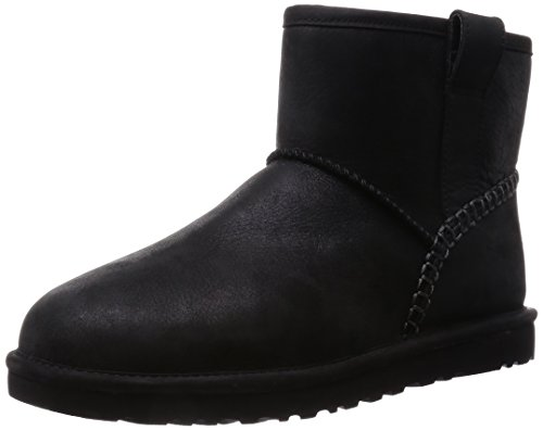 Mini Men's Black Stitch Leather Classic UGG w0PEqSw