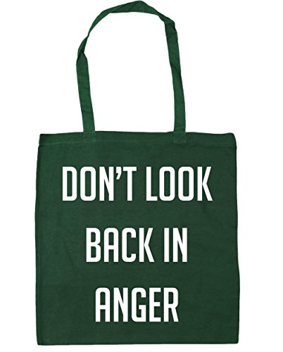 Bottle in HippoWarehouse Don't Shopping back x38cm anger Beach Gym look 42cm litres 10 Bag Tote Green rtcq6Stw