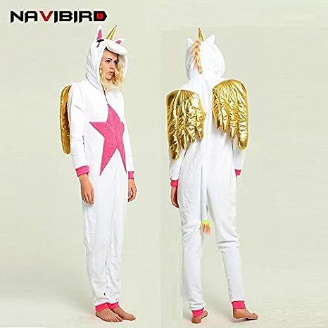 UATECH - Pijama de Unicornio para Hombre y Mujer, diseño de ...