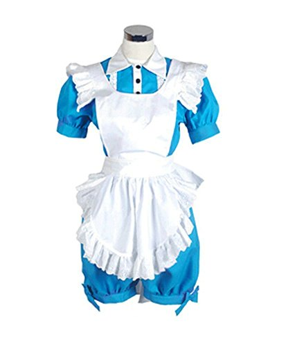 Black Butler Ciel Phantomhive Maid Uniform Cosplay Costume Customize Cosplay -