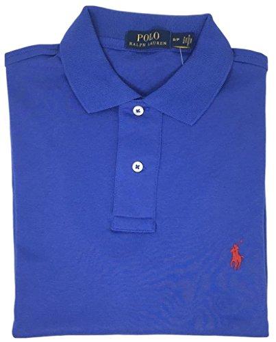 Polo+Ralph+Lauren+Men+Medium+Fit+Interlock+Polo+Shirt+%28XXL%2C+Multi+Blue%29