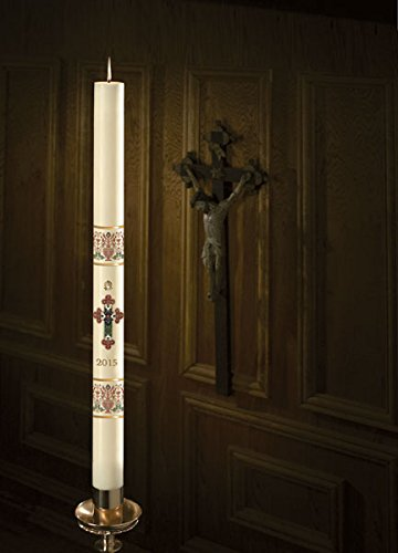 Will & Baumer No 3 Coronation Paschal Candle