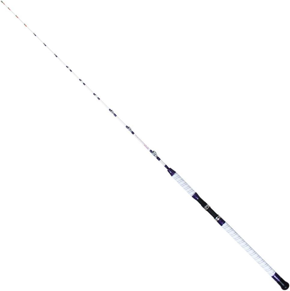 アカムツ オニカサゴに 18'無限ピュア船 195-150号 紫の Edition [ホワイト/ブラック] (goku-mpf-195-150) ホワイト
