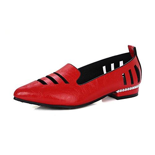 La versión coreana de la primavera en punta y zapatos de verano/crudo con baja zapatos corte bajo/Zapatos calados/zapatos casuales D