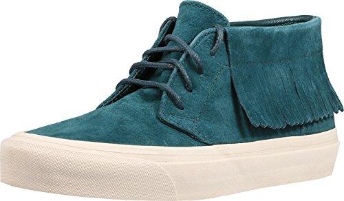 Vans Chukka Moc Dx Atlantic Deep Ankle-High Suede Fashion Sneaker - 9.5M/8M ehLrHaW2