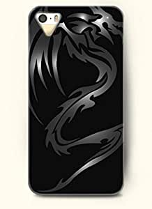 OOFIT Phone Case Design with Dark Dragon for Apple iPhone 5 5s 5g