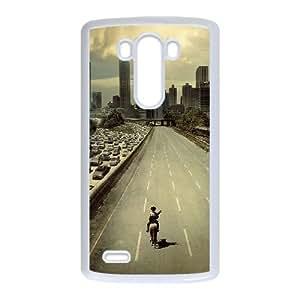LG G3 Cell Phone Case White walking dead city film SP4187873