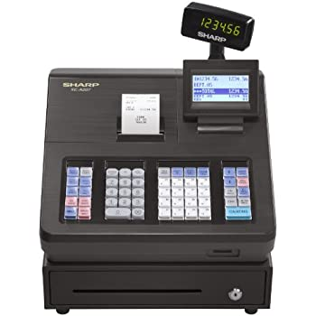 amazon com sharp xe a101 high contrast led cash register rh amazon com Cash Register Sharp Xea 201 Sharp Cash Register ManualDownload