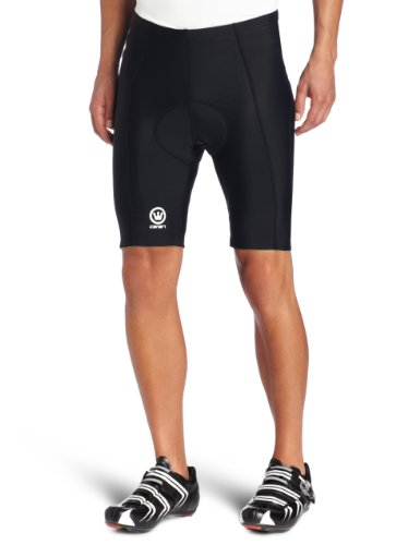 Canari Velo Gel Cycling Short Mens (Black, Medium) by Canari Cyclewear (Image #1)