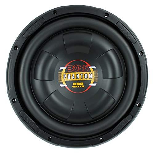 w Slim Car Audio Subwoofer Power Sub Woofer Flat D10F ()