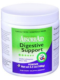AbsorbAid Plant Enzyme 100 gms by Nature's -