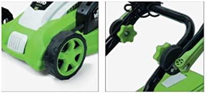 Cortacésped eléctrico vitogarden - 1800 W motor inducción - Copa ...