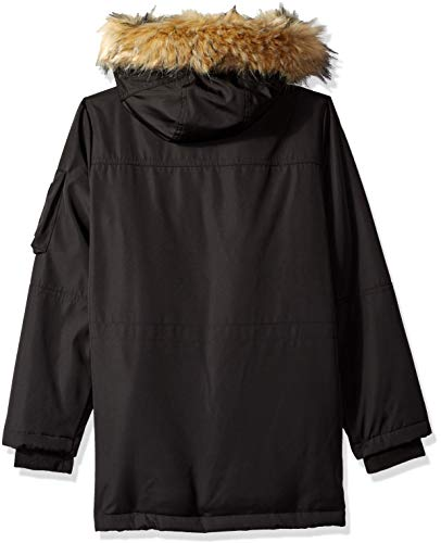 Fur Big Black Hood Blizzard Faux Parka with Boys' S13 xF7vqwYRv