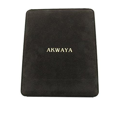 akwaya Collier Femme-14K-Boucles d'Oreilles, 50,8cm-AAA