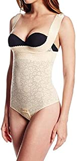 product image for Rago The Perky Lift Lace Bodysuit Style 1216 XL Beige