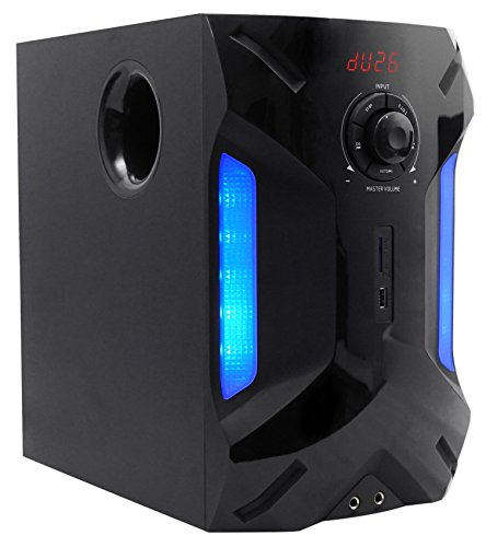 """Rockville HTS56 1000w 5.1 Channel Home Theater System/Bluetooth/USB+8"""" Subwoofer 5"""