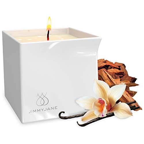 Pipedream JimmyJane Afterglow Natural Massage Oil Candle (Vanilla Sandalwood)