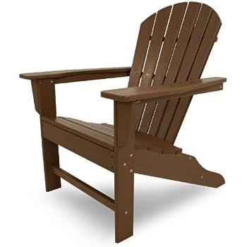 Amazon Com Poly Wood Sba15te South Beach Adirondack