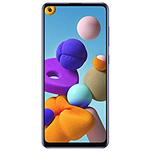 Samsung Galaxy A21s (Blue, 6GB RAM, 64GB Storage) with No Cost EMI/Additional Exchange Offers