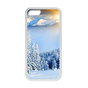 Welcome!Iphone 5C Cases-Brand New Design Beautiful Snowy Scenery Printed High Quality TPU For Iphone 5C 4 Inch -06