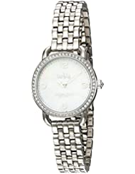 COACH Womens Delancey 28mm Bracelet Stainless Steel Watch