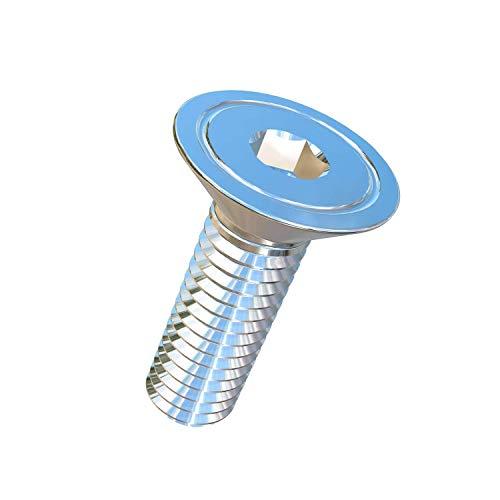 Allied Titanium 0008956, (Pack of 5) M6-1 Pitch X 20mm Titanium Flat Head Socket Drive Machine Screw, Grade 5 (Ti-6Al-4V)