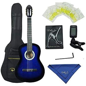 bailando 39 inch classical guitar full size nylon strings student beginner guitar. Black Bedroom Furniture Sets. Home Design Ideas