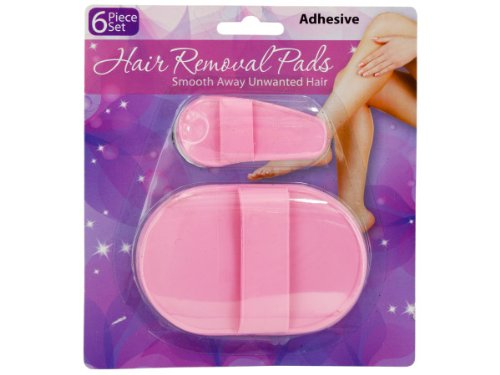 Hair Removal Pad - Set of 18