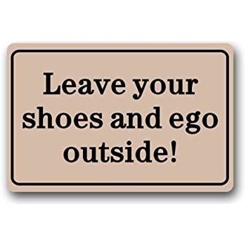 Amazon Com Clean Machine Doormat Leave Your Shoes And