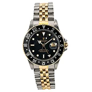 Rolex GMT Master Automatic-self-Wind Male Watch 16753 (Certified Pre-Owned)