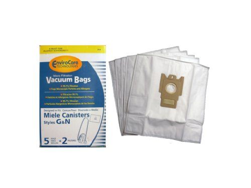 10 Miele G N Allergy Bags + 4 Filters, Canister, Life Style, United Kingdom, Deluxe Midsize Vacuum Cleaners, 7189520, Replaces: # 05588940, S400-456i, S400i S401i S402i S403i S404i S405i S406i,07805110, S227i to S240i (Pad Miele)