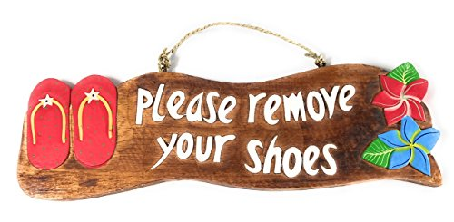 remove shoes sign hawaii - 8