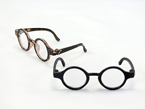 Two Pairs of Tortoise Shell Glasses | Fits 14