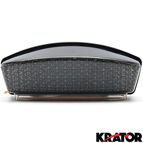 Krator Smoke LED Tail Light Integrated with Turn Signals For 1997-2000 Ducati Monster 750 / 800 / 900 / 1000 (Ducati Monster 900 compare prices)