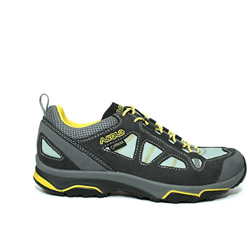 Asolo Women's Megaton GV Hiking Shoes Graphite/Poolside - 9.5