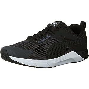 PUMA Men's Propel Cross-Trainer Shoe, Asphalt Black/Patent, 10.5 M US