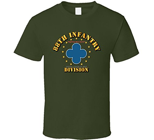SMALL - 88th Infantry Division - Fighting Blue Devils - Military Green