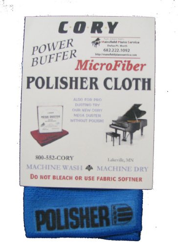 Microfiber Piano Polisher Cloth - Distributed by A Fully Authorized Cory Products Dealer by Cory/MPS