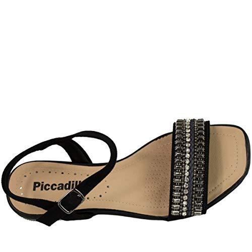 deff6b96f6 Sandália Rasteira Piccadilly Camurça 553037  Amazon.com.br  Amazon Moda