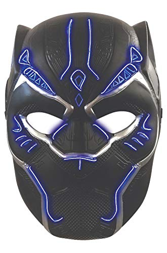 Boys Black Panther Light up Battle Mask