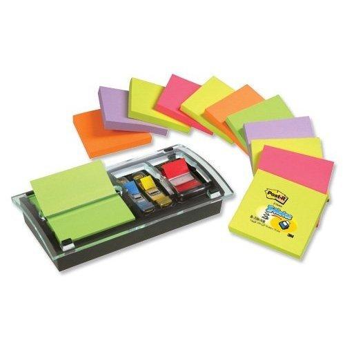 - MMMDS100VP - Designer Series 3x3 Pop-Up Note Flag Dispenser w/12 Ultra Color Pads per Pack